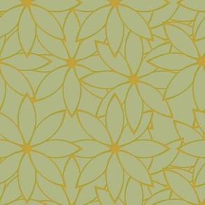 Crowded Flower (Lichen)