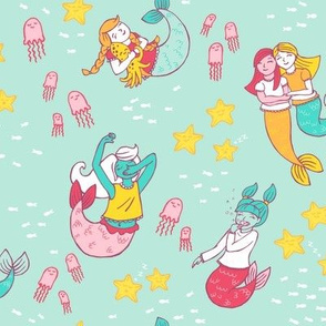 Mermaid Pajama Party on Mint
