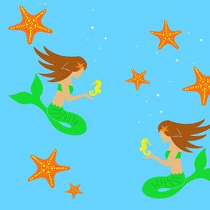 Mermaid-FatQuater_ImFeelinCrafty2