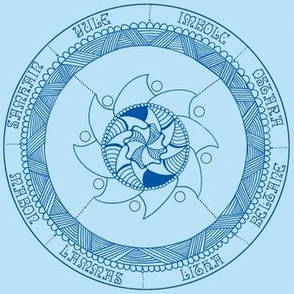 Wheel of the Year - Blue