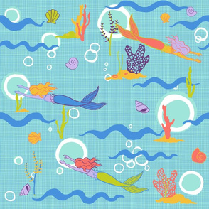 mermaids_bright_colors