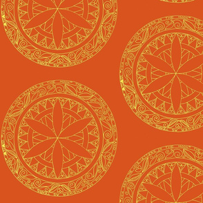 Summer-Solstice Mandala