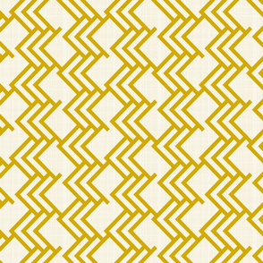 Golden Woods On Cream Linen 90 deg