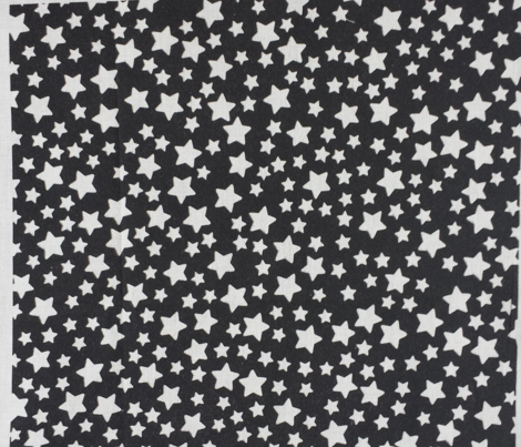 Black & White Mini Stars B&W