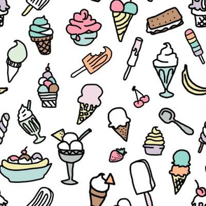 Ice Cream Doodles