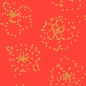 Subtle flowers quilt