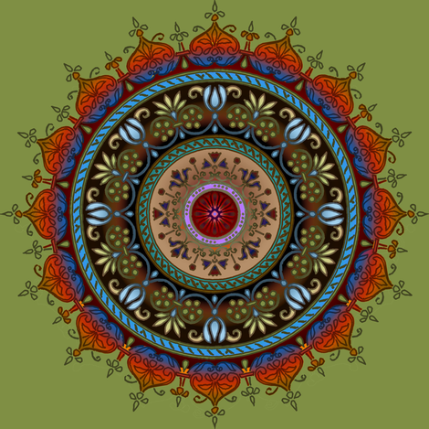 dutch medallion earth