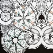 Interlaced Mandalas