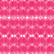 paper hearts / diamonds