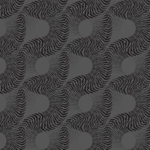 Fossilescent (Black on Gray)