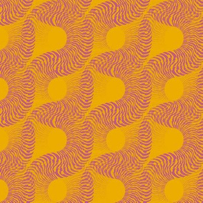 Fossilescent (Pink on Yellow)