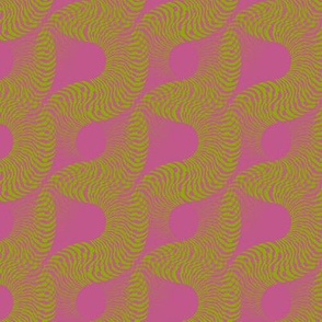 Fossilescent (Green on Pink)