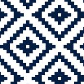 Aztec // navy