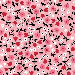Country Calico pink