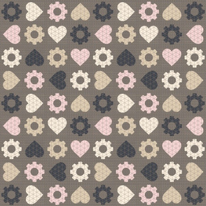 minimalist steampunk valentine - multidirectional