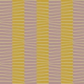Topography of Line (Yellow and Rose)