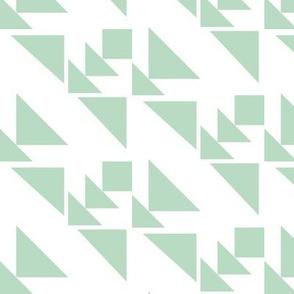 Aztec arrows - green