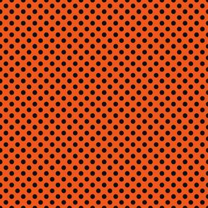 Ducks Orange Puck Dot
