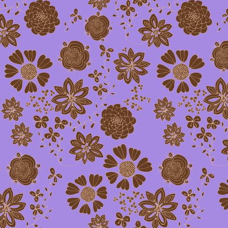 Free the Flowers (lilac background)