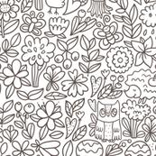 woodland pattern