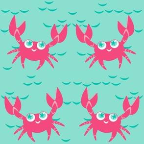Being Sorta Crabby! - Summer Daydream - © PinkSodaPop 4ComputerHeaven.com