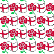 Rose and St Gearge's Flag