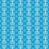 Scandinavian Winter Blue White