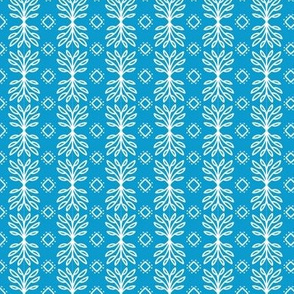 Scandinavian Winter Aqua White
