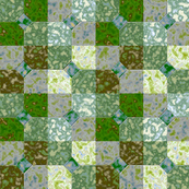 Bowtie Tiles, Green