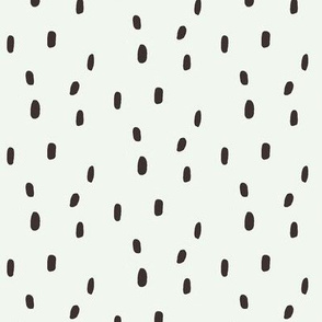 Painted dots-black and white1