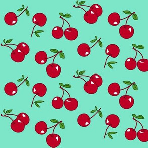 Cherries red x mint