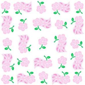 Pink Roses & Jacks