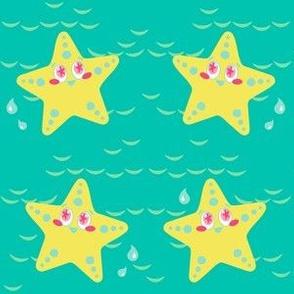 Splashy Starfish! - Summer Daydream - © PinkSodaPop 4ComputerHeaven.com