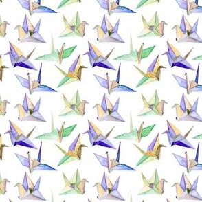 Origami Cranes - small