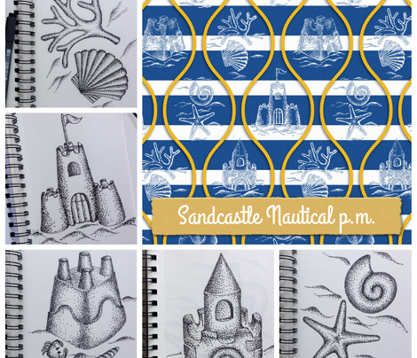 Sandcastle Nautical p.m.
