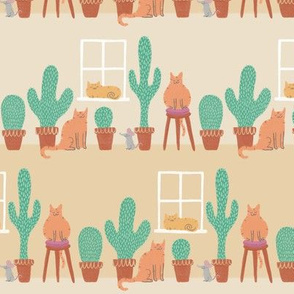 Cats Love Cacti - Small