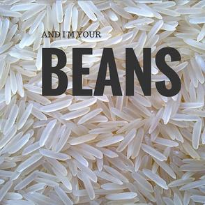 Rice & Beans PILLOW (RIce)