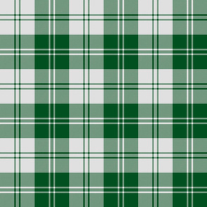 Erskine dress green tartan