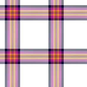 Young dress tartan