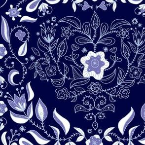 Dutch Heart: Indigo Blue