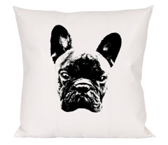 Pillow cover frenchie