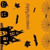 Halloween border print
