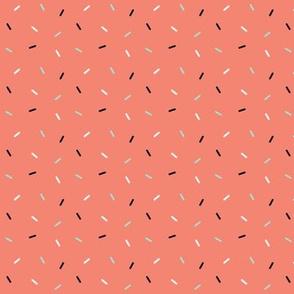 Sprinkles - Coral