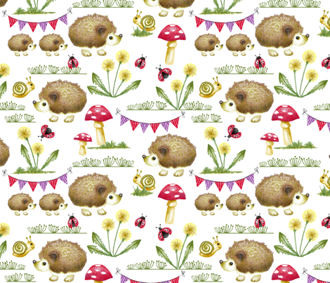 Hedgehog Garden Party