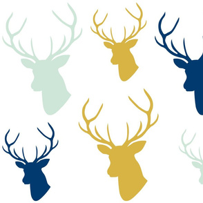 Deer Silhouettes for Appliques