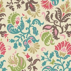 Feathered Damask (5)