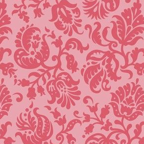 Feathered Damask (5b)