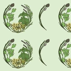 Circle Herb Garden
