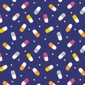 Happy Pills - Royal Blue