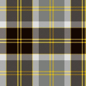 Bannockbane trade tartan - grey and black